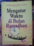 Buku Saku Mengatur Waktu Di Bulan Ramadhan Cover