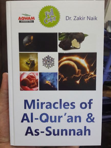 Buku Miracles Of Al-Qur'an & As-Sunnah Cover