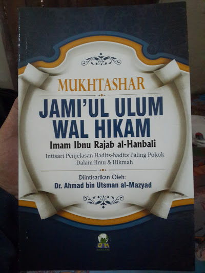 Buku Mukhtashar Jami'ul Ulum Wal Hikam Cover