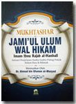 Buku Mukhtashar Jami'ul Ulum Wal Hikam Isi