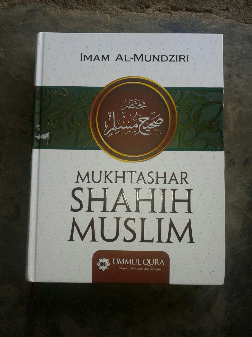 Buku Mukhtashar Shahih Muslim cover