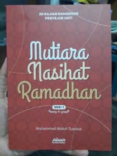 Buku Mutiara Nasihat Ramadhan 20 Kajian Ramadhan Seri 1 Cover