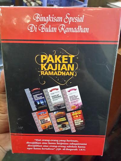 Paket Kajian Ramadhan Kumpulan Buku Tema Ramadhan Belakang