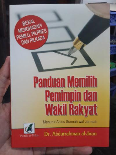 Buku Panduan Memilih Pemimpin Dan Wakil Rakyat Cover
