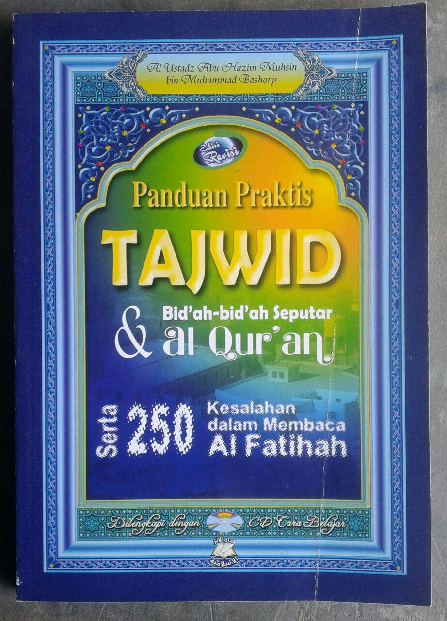 Buku Tajwid Praktis & Bid'ah-Bid'ah Seputar Al-Quran cover