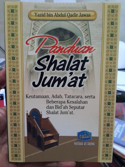 Buku Panduan Shalat Jum'at Keutamaan Adab Cover