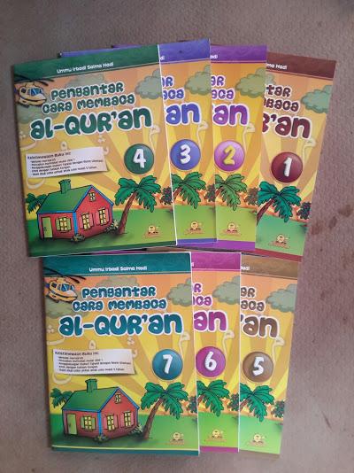 Buku Pengantar Cara Membaca Al-Qur'an Set