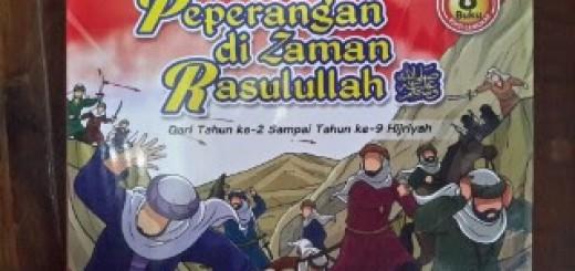 Buku Anak Peperangan Di Zaman Rasulullah Cover