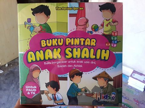 Buku Anak Bergambar Pintar Anak Shalih Cover