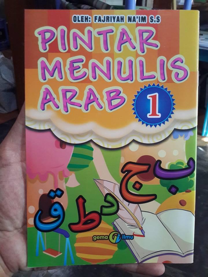 Buku Anak Pintar Menulis Arab Cover