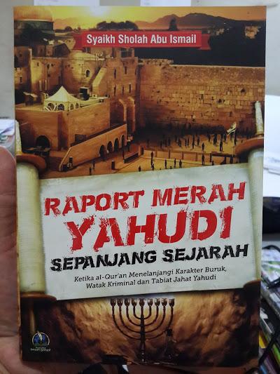 Buku Raport Merah Yahudi Sepanjang Sejarah Cover