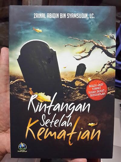 Buku Rintangan Setelah Kematian Cover
