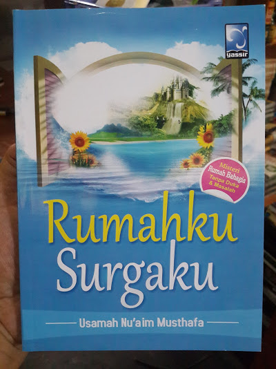 Buku Rumahku Surgaku Cover