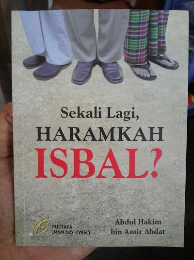 Buku Saku Sekali Lagi Haramkah Isbal Cover