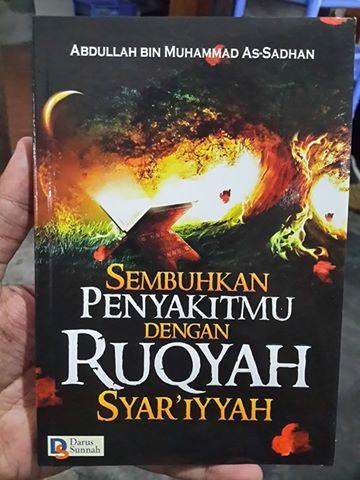 sembuhkan penyakitmu dengan ruqyah syar'iyyah buku cover