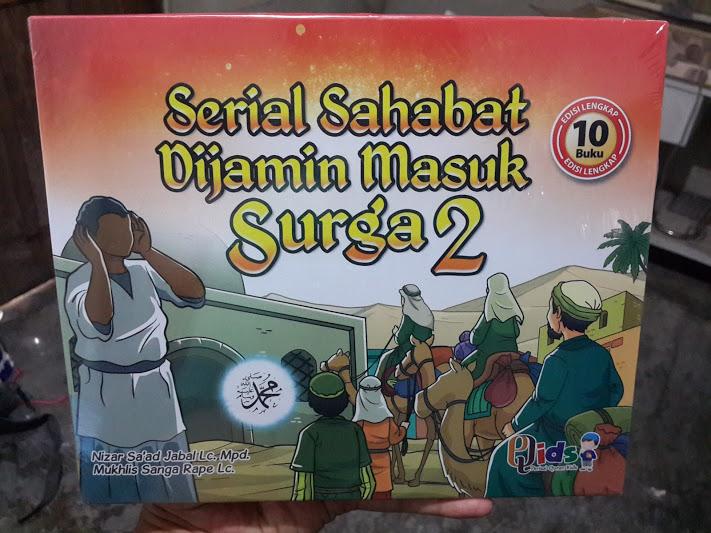 Buku Anak Serial Sahabat Dijamin Masuk Surga Seri 2 Cover Set