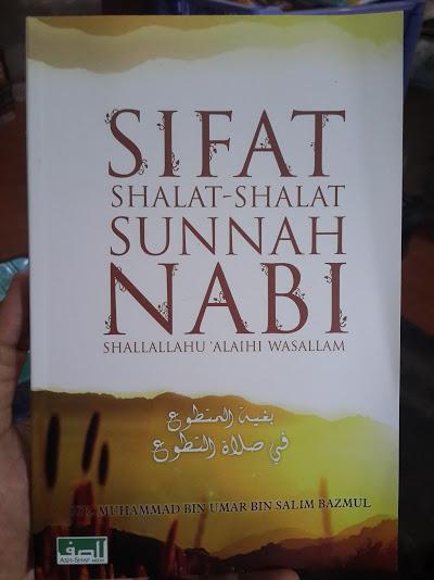 Buku Sifat Shalat-Shalat Sunnah Nabi Cover