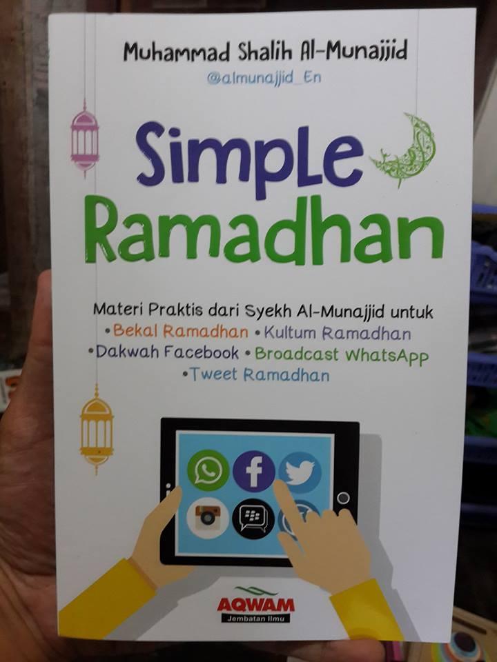 Buku Simple Ramadhan Materi Praktis Ramadhan Cover
