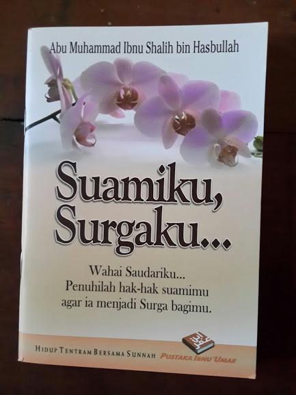 Buku Saku Suamiku Surgaku Cover