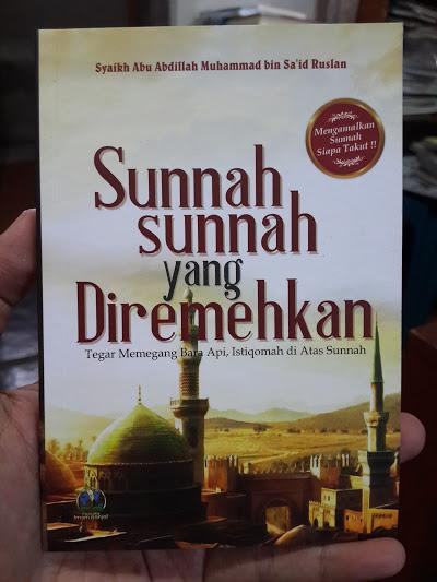 Buku Saku Sunnah Sunnah Yang Diremehkan Cover