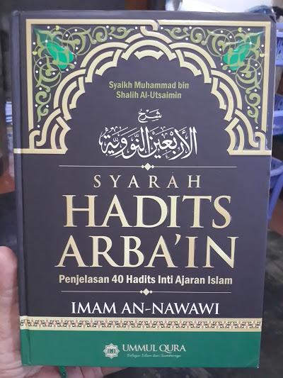 Buku Syarah Hadits Arbai'in Syaikh Al-Utsaimin Cover