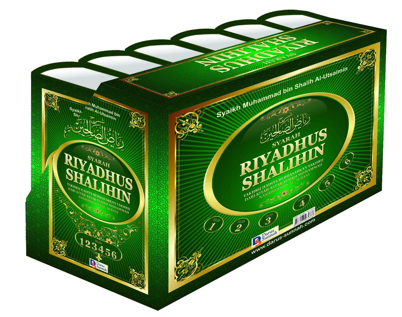 Buku Syarah Riyadhus Shalihin Oleh Syaikh Utsaimin Set