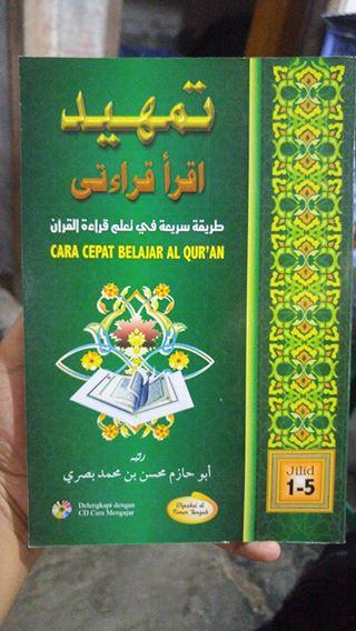 Buku Tamhid Iqro Qiroaty Cara Cepat Belajar Al-Qur'an cover
