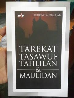 Buku Tarekat Tasawuf Tahlilan Dan Maulidan Cover
