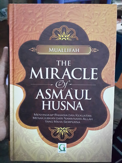 Buku The Miracle Of Asmaul Husna Cover