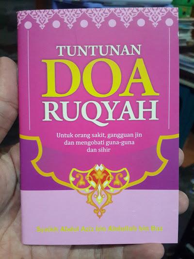Buku Saku Tuntunan Doa Ruqyah Cover
