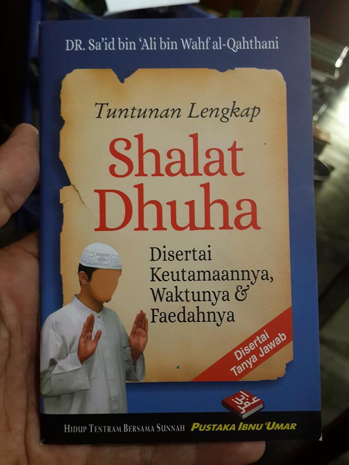 Buku Saku Tuntunan Lengkap Shalat Dhuha Cover