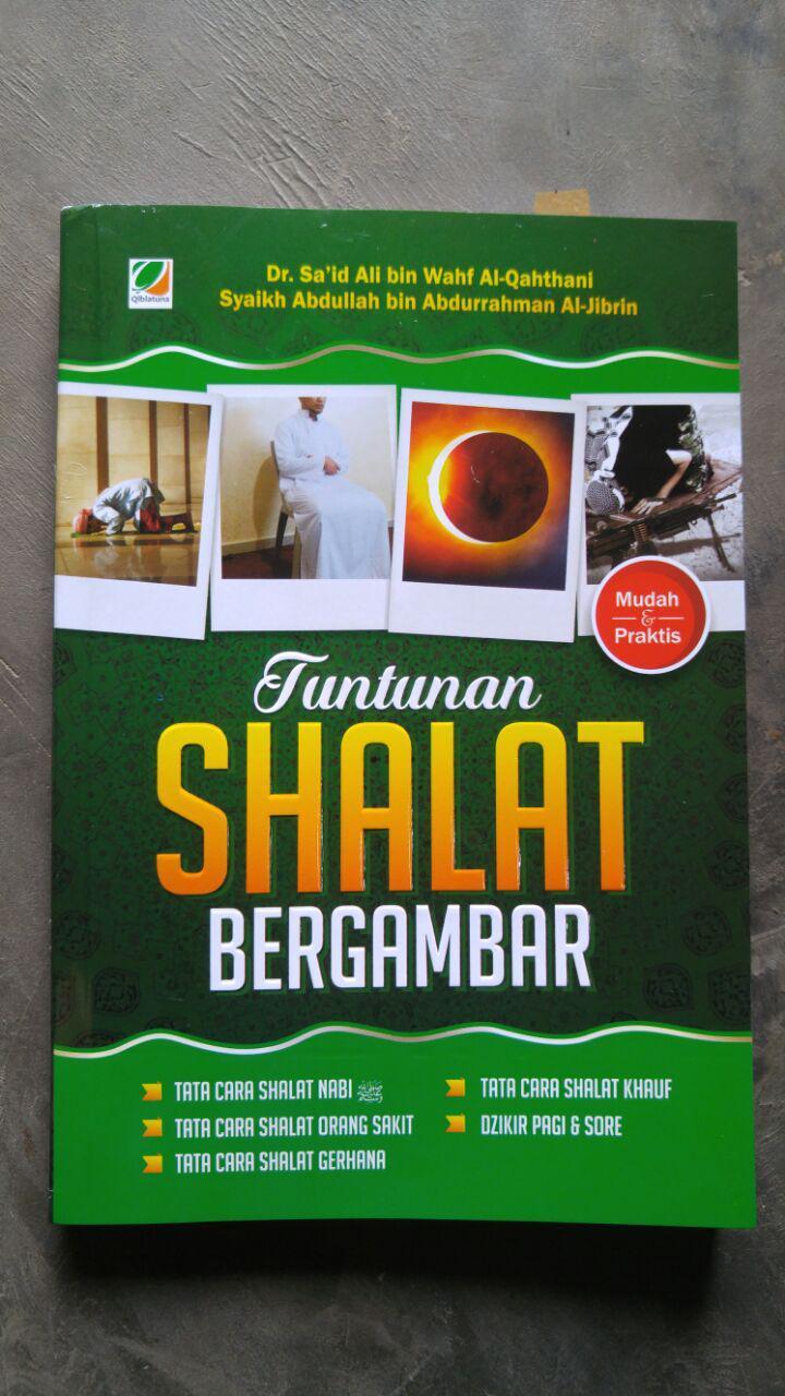 Buku Tuntunan Shalat Bergambar Tata Cara Shalat Gerhana cover