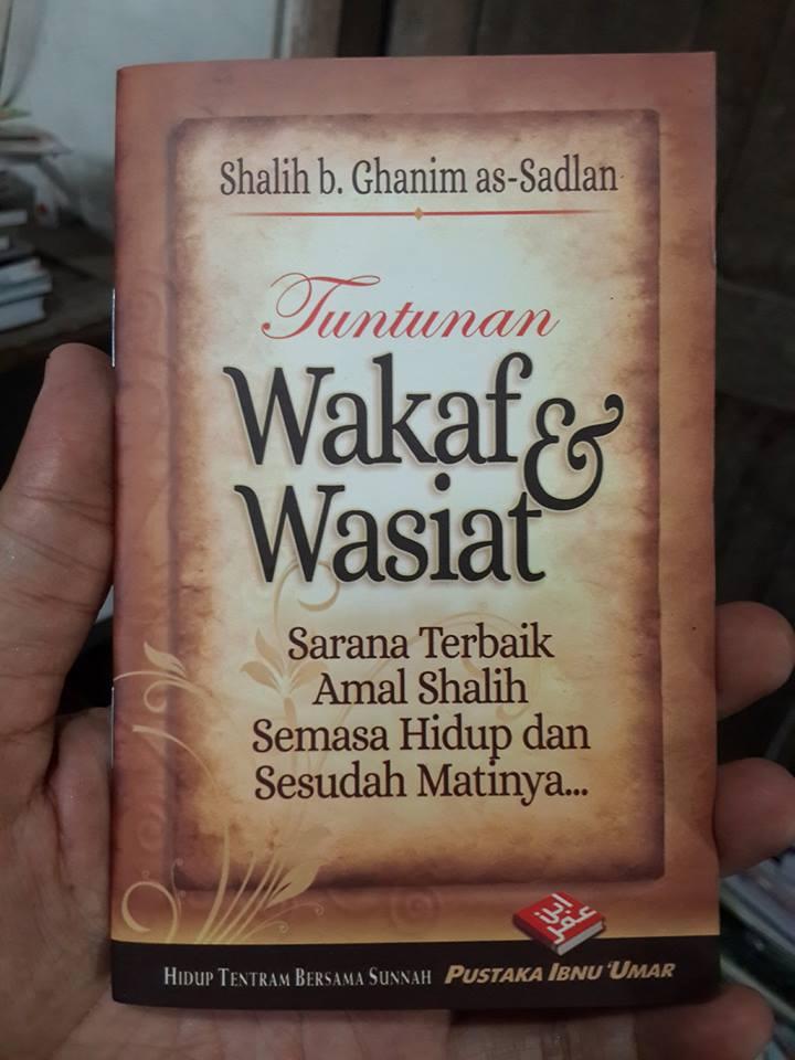Buku Saku Tuntunan Wakaf Dan Wasiat Cover