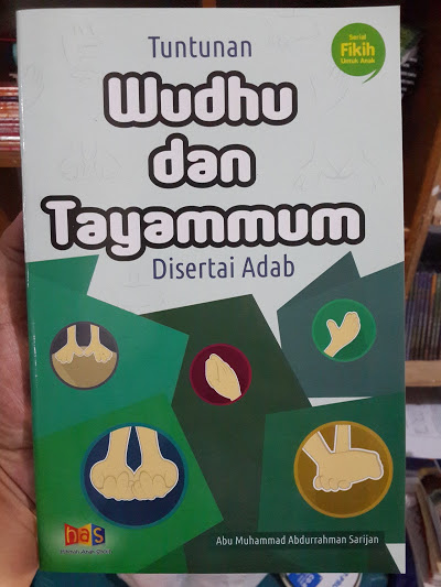 Buku Anak Tuntunan Wudhu Dan Tayammum Disertai Adab Cover
