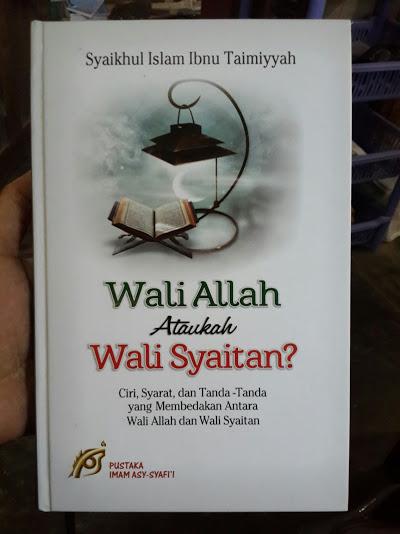 Buku Wali Allah Ataukah Wali Syaitan Cover