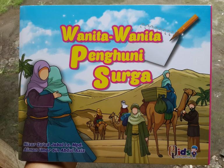 Buku Anak Wanita Wanita Penghuni Surga Cover Box